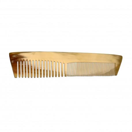 Peigne en corne ariégeois de poche petit modèle