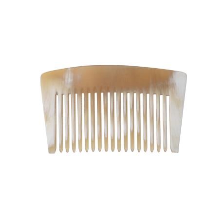 Peigne en corne Ariégeois court dents normales