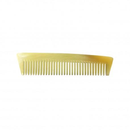 Peigne à barbe longue en corne